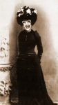 Great Grandma Eulalia Richfield - 1927 - Mama said that Great Grandma Eulalia used to have a separate trailer just to store all of her hats and gowns, I guess we know who inherited her genes...