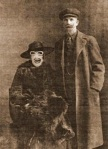 Alphonse and Charmaigne Richfield - 1928 - Infamous for their bathtub gin, Alfi & Char were reckless good-time folks with a penchant for danger. They vanished witthout a trace in a cloud of mystery during a raid just one year after this photo was taken.