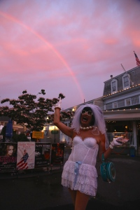 Rainbows are everywhere in Ptown