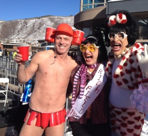 Aspen fun with Winner Red Cup Scott, Miss R 1982 & ME!